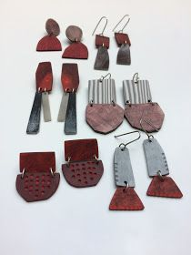Genevieve Williamson: New recycled earrings