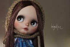 Autumn   Adorable custom blythe for adoption, by Babycatface