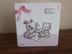 Made from Hunkydory's Smudge and Mitten and Rascal too kit. Hunky Dory, Easy Cards, Heartfelt Creations, Little Books, Smudging, Homemade Cards, Mittens, Stamping, Card Stock