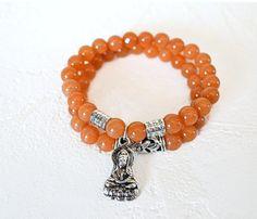 Red Aventurine Yoga Bracelets