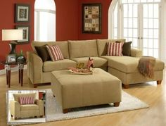 smaller sectional type sofa for small spaces instead of those huge sectionals that swallow the whole room dcomobilier de salon pinterest small