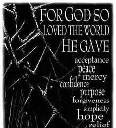 For God So Loved the World - Easter 1997