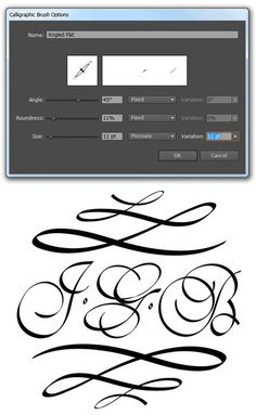 How to Make, Use, and Manipulate a Calligraphic Brush in Adobe Illustrator