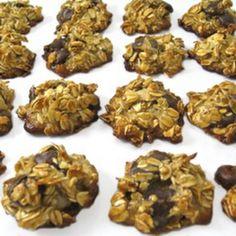 Skinny Oatmeal Dark Chocolate Chippers (Gluten Free)