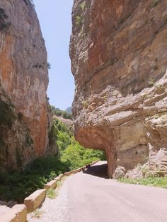 Χαραδρα στεφάνι... road to monastery of Madonna di Proussos