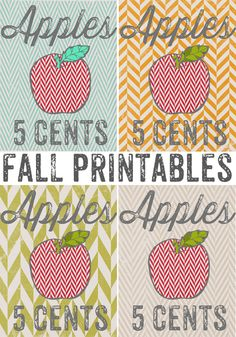 Whipperberry: 12 Fall Inspired Free Printables