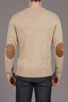Wool Blended Cable Knit Sweater