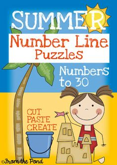 FREE Number Line Puzzle Worksheets!