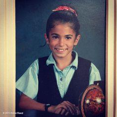 Nikki Reed as a kid