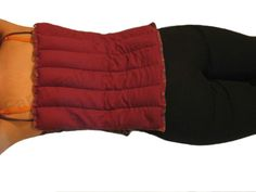 All Purpose Heating Pad. 6 Individual Tubular Pockets Hold Flax in Place. Great for Wrapping Around Knees, Arms, Hips or Shoulders. Can be Rolled up to make a Neck Pillow. Goes Great Anywhere on Your Body. Great for Taking to Bed!) Relaxes Tight Muscles & Decreases Pain Caused by Muscle Tension &/or Spasms, Stiffness, & Cramps. Organic, Designed by a Certified Personal Trainer!