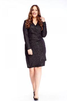Krásné společenské šaty jsou jasnou volbou na jakýkoliv večírek, ples nebo jinou společenskou událost. Velmi je ocení dámy plus size, jsou totiž nabrané v oblasti pasu. Materiál (90% viskóza, 10% elastan) je pružný a posetý drobnými stříbrnými aplikacemi, dlouhý rukáv, délka ke kolenům, zapínání na skrytý zip vzadu. Doporučujeme oživit outfit barevnými lodičkami a psaníčkem. Dresses For Work, Fashion, Bridal Gowns, Boyfriends, Dark Around Eyes, Moda, Fashion Styles, Fashion Illustrations