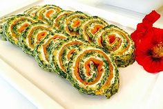 Lachs-Spinat-Rolle 1