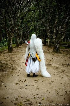 Walking the Path Alone by Yukilefay on DeviantArt Inuyasha Cosplay, Cosplay Anime, Epic Cosplay, Cosplay Outfits, Cosplay Costumes, Cosplay Ideas, Inuyasha And Sesshomaru, Vash, Ghost In The Shell
