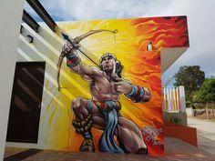 Humo SF en Oaxaca Graffiti Streetart