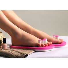 PediQuick® - No more smudged nail polish or cold feet. Just unlimited freedom of movement.