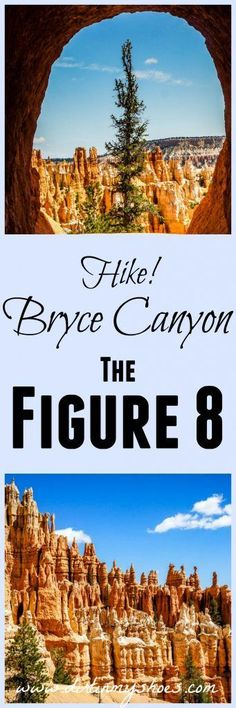 Hiking Trails USA Hike the ULTIMATE trail in Bryce Canyon National Park -- the Figure This includes the Navajo Loop, the Peek-a-Boo Loop, and the Queens Garden trails. Tips written by a former park ranger! Bryce Canyon, Grand Canyon, The Places Youll Go, Places To Go, Nationalparks Usa, Monument Valley, Peek A Boo, Utah Hikes, Las Vegas
