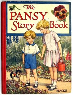 The Pansy Story Book front cover illustration by Cicely Mary Barker