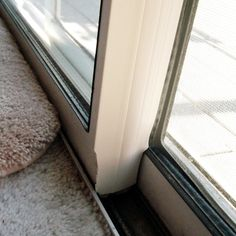 Draft Sealer For Sliding Glass Doors In 2019 Better Ways