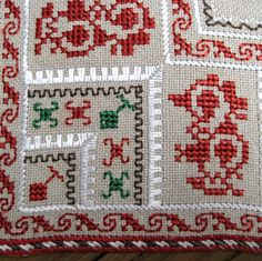 Vintage 1950s linen silk ethnic tablecloth, Bulgaria embroidery square doily, cross stitched table linens.  This is a cross stitched tablecloth with Bulgarian embroidery handmade. It is * Unique - the reasons are the traditional Bulgarian costume * Used the traditional time for natural materials - linen and silk * Embroidery is high complexity, the performance is to manually and accurately This doily is little used. No stains and dirt. No unpleasant smells old. This doily is colorful, form a…