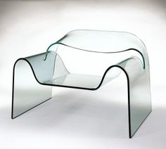 Ghost Chair (via Ghost Chair | Corning Museum of Glass)