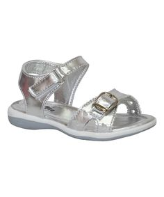 Silver Buckle Coco Sandal