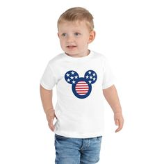 Toddler Short Sleeve Tee #kids #GirlsTShirts #MickeyMouse #TShirts #BoyTShirts #KidsWear #ToddlerShirts #summer #KidsClothes #disney Boys T Shirts, Kids Wear, Hypebeast, Short Sleeve Tee, Mickey Mouse, Trending Outfits, Tees, Disney, Summer