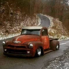 39 Trendy Cool Old Cars Hot Rods Chevy Trucks Rat Rod Trucks, Gmc Trucks, Cool Trucks, Cool Cars, Diesel Trucks, Lowrider Trucks, Lifted Trucks, 54 Chevy Truck, Chevy 3100