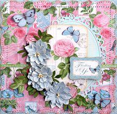 Graphic 45 Botanical Tea card