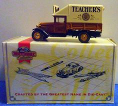 Matchbox TEACHER's SCOTCH WHISKY 1932 FORD AA  Die Cast Truck 1995 1/43  D10 #Matchbox #Ford
