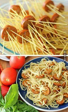 A better way to eat spaghetti
