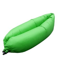 Sectional Sofa Love this Green Inflatable Air Sofa Bed on zulily zulilyfinds