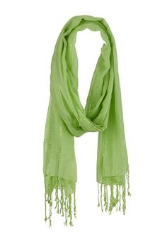 Solid Twisted Fringe Scarf (original price, $14) available at #Maurices