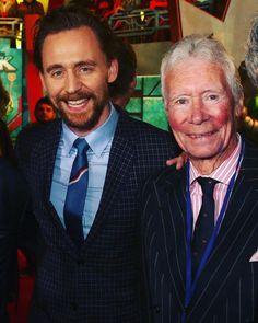 "143 Me gusta, 2 comentarios - Tom Hiddleston (@tom_hiddleston__fans) en Instagram: ""Tom Hiddleston and Father James Norman Hiddleston ❤️ #family #tomhiddleston #twhiddleston…"""