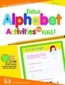 Bible Alphabet Activities for Kids  Each book includes a FREE album download with 14+ songs and 48 Page of activities!  $4.99