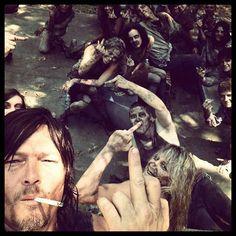 Zombies #walkingdead   Silly Daryl Dixon <3