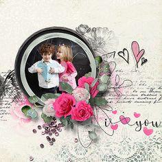 Collections :: R :: Romantic Soul by et designs :: Romantic Soul Collection Digital Scrapbooking Layouts, Choose Joy, Site Design, Paper Flowers, Overlays, Digital Art, Romantic, Kit, Creative