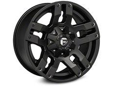 Fuel Wheels Wrangler Pump - Black 18x9 D51518902650 (07-16 Wrangler JK) - Free Shipping