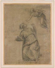 Michelangelo Buonarroti | Annunciation to the Virgin | The Morgan Library & Museum