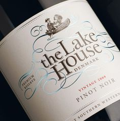 The Lake House any excuse to try a new wine wine / vinho / vino mxm Lakeside Living, Wine Label Design, Wine Packaging, Design Packaging, Lake Cabins, Lake Cottage, In Vino Veritas, Lake Life, Time 100