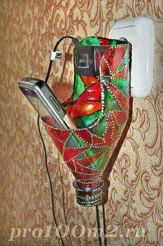 Reutiliza a las botellas de plástico con esta práctica idea. #reciclar #DIY #botellas #plastico