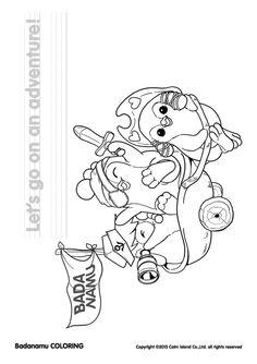 badanamu coloring pages - photo#10