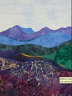 deidre gittins. love the colors of this landscape.