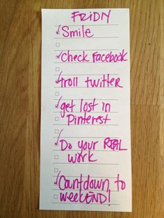 P.S.- Here's your TGIF list!  #friDIY