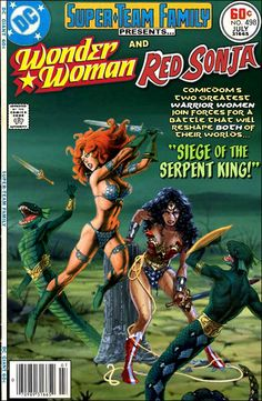 Super-Team Family: The Lost Issues!: Wonder Woman and Red Sonja