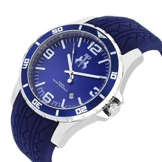 Royal blue looks amazing on this Jivago watch!