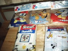 Baby disney. 3 puff wall art. This is a 5 piece lot. Tanya Marie.