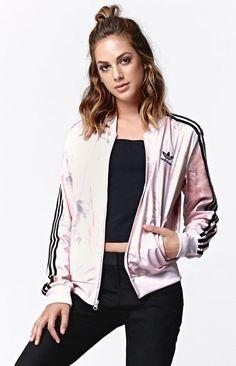 Adidas Pastel Rose Track Jacket                                                                                                                                                     More