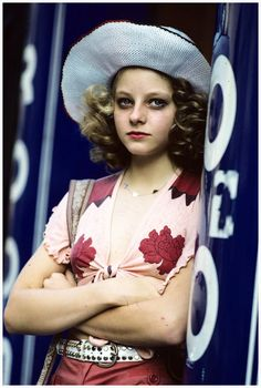 Steve Schapiro, Jodie Foster on the set of Taxi Driver, 1976