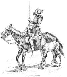 Spanish Conquistador by Frederic Remington