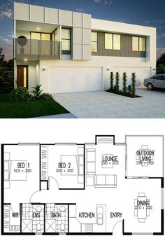 Featuring 2 Bedrooms and 2 Bathrooms - Set across a spacious View floor plan and design features - Save up to on build costs with Imagine. 2 Bedroom House Design, Villa Plan, Kerala House Design, Kerala Houses, Kit Homes, House Architecture, Bathroom Sets, Tiny Houses, Floor Plans